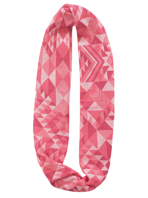 Buff Cotton Jacquard Infinity - Foulard - rose
